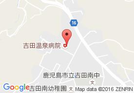 吉田温泉病院の地図